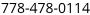 PhoneNumber-Fedex Line
